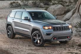 gray jeep grand cherokee with black rims 2017 jeep grand cherokee pricing for sale edmunds