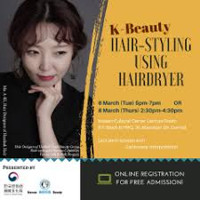 hairstyling classes korean cultural center in hong kong