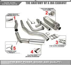 exhaust system jba performance exhaust exhaust systems