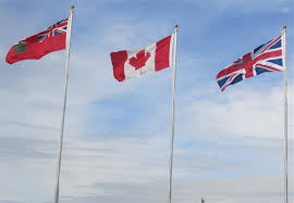 Manitoba Flag 1 Rcaf Wwii Memorial Unveiling September 10 2014 Brandon