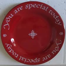you are special today plate homespun hugs and calico kisses october 2010