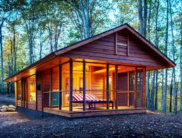 tiny ultraportable escape cabin can be moved anywhere just like