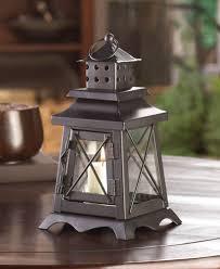 ocean blue iron glass candle holder hanging lantern best decor com