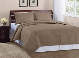 Gold Quilted Bedspread Amazon Com Marcini Luxury King Size 3 Piece Cotton Quilt