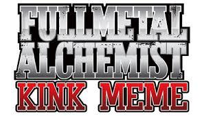 Fullmetal Alchemist Kink Meme - tumblr to dreamwidth fullmetal kink the fullmetal alchemist kink