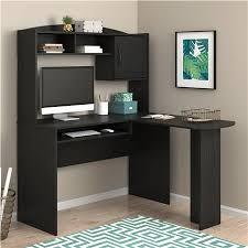 Black Desk With Hutch Ameriwood Furniture Mainstays L Shaped Desk With Hutch True