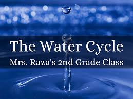 the water cycle by eraza