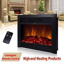 Electric Fireplace Insert Electric Fireplace Heater Insert Ebay