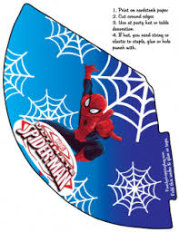 spider man party hat spiderman party hats free printable ideas