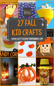 27 fall kid crafts a little craft in your day