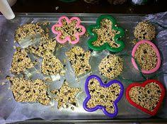 diy bird seed ornament recipe no baking required step by