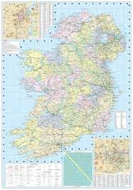 Purchase Ny Map 2017 Collins Ireland Road Map Collins Uk 9780008158606 Amazon