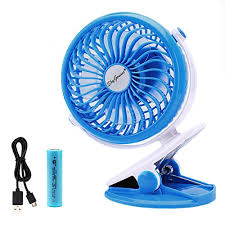 held battery operated fans battery operated clip fan for baby stroller car back seat laptop