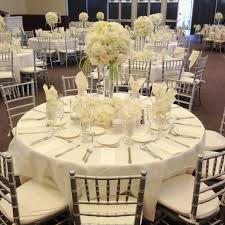 Centerpieces For Banquet Tables by Elegant Table For Wedding Hydrangeas And Vendela Roses