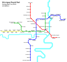 Winnipeg Map Fantasy Metro Maps