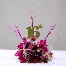 sweet 16 table centerpieces how to make simple sweet 16 centerpieces awesome events