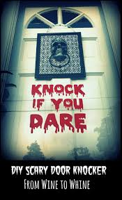 knock if you dare from wine to whine