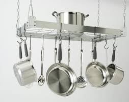 pot rack pendant light best kitchen racks ideas southbaynorton
