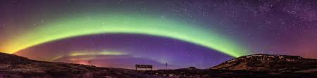 northern lights iceland april northern lights rainbow iceland panoramic imgur