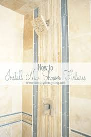 How To Install Bathroom Shower Faucet by Master Bathroom Remodel Part 6 How To Install New Shower Fixtures
