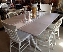 paint treatment on a 40 u0027s duncan phyfe drop leaf dining table