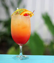 malibu summer rose cocktail recipe beverage alcoholic drinks