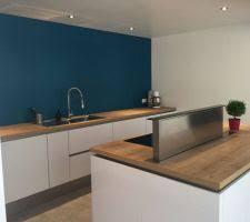 mur cuisine photos et idées cuisine mur bleu 509 photos