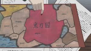 Naruto World Map by Land Of Demons Narutopedia Fandom Powered By Wikia