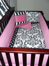 Pink And Black Crib Bedding Sets 28 Best Baby Room Ideas Images On Pinterest Baby Room