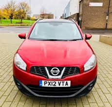 qashqai nissan 2012 nissan qashqai 1 6 n tec plus is dcis s 5d 130 bhp red 2012 in