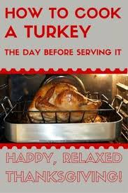 make ahead turkey recipe stress busters a and delicious