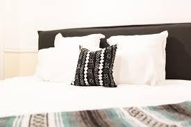 order of pillows on bed rachel sayumi fashion lifestyle blog