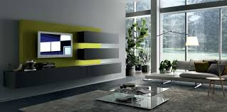 grey and lime green living room design home design ideas