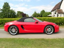 red porsche convertible 2013 porsche boxster 3 4 s with pdk convertible petrol semi auto 7