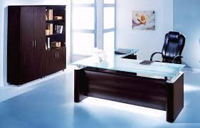 Modern Glass Office Desks Glass Office Desk Comfortable Glass Office Desk