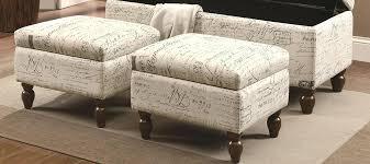 Grey Fabric Storage Ottoman Storage Ottoman Fabric Christlutheran Info