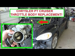chrysler pt cruiser throttle body removal and replacement in 5