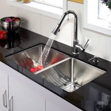 stainless steel kitchen sink combination kraususa com discontinued 33 inch undermount double bowl stainless steel kitchen sink with chrome kitchen faucet and