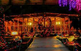 lights of christmas stanwood experience the warm rustic décor of deer mountain lodge