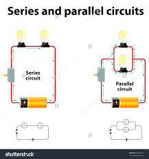 series parallel circuits stock illustration shutterstock and