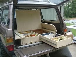 Caravan Interior Storage Solutions Minivan Camper Plans Our Home For The Next 6 Months The Nomader