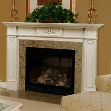 epic picture of living room decoration using wood white mantel