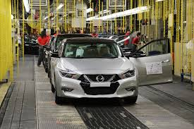gray nissan maxima production starts for all new nissan maxima in smyrna tennessee