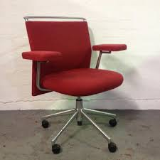 aof second hand red vitra office chairs