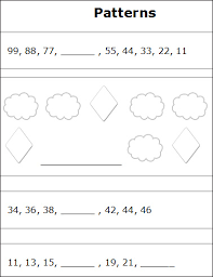 patterns and sequences worksheets free printable number patterns