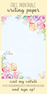writing stationery paper 10 best writing paper free printables images on pinterest free printable writing paper available as a download when you become a member at my website