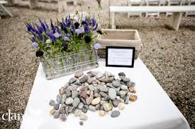 wishing stones wedding 8 ways to involve your guests in your wedding ceremony