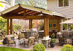 Backyard Covered Patio Ideas Backyard Covered Patio Pictures With Lounge Space And Outdoor