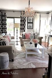 Beige And Pink Curtains Decorating 40 Beautiful Living Room Designs 2017