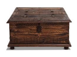 Square Rustic Coffee Table Furniture Rustic Trunk Coffee Table For Adding Natural Charm To